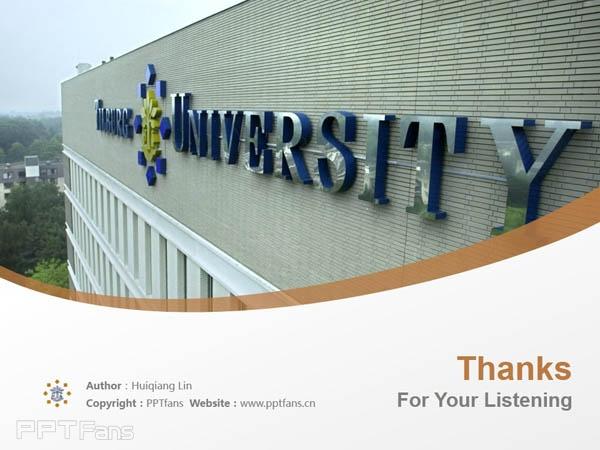 Tilburg University powerpoint template download | 蒂尔堡大学PPT模板下载_slide17