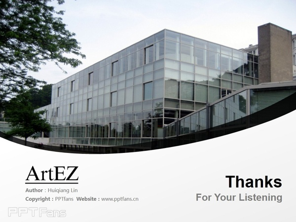 ArtEZ Institute of the Arts powerpoint template download | ArtEZ艺术学院PPT模板下载_幻灯片预览图18