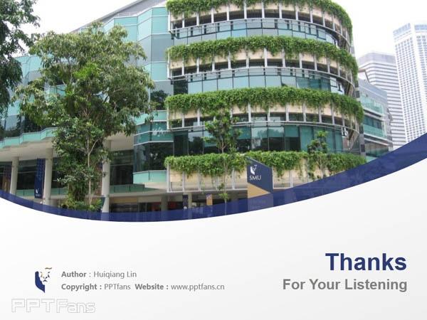 Singapore Management University powerpoint template download | 新加坡管理大学PPT模板下载_幻灯片预览图18