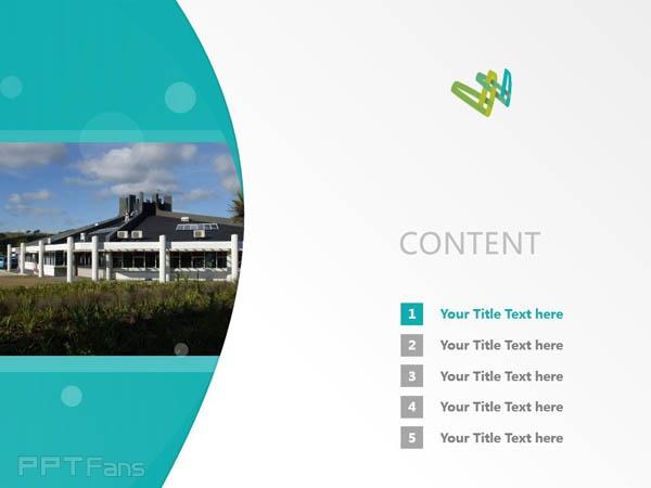 Whitireia Community Polytechnic powerpoint template download   新西兰维特利亚学院PPT模板下载_幻灯片预览图2