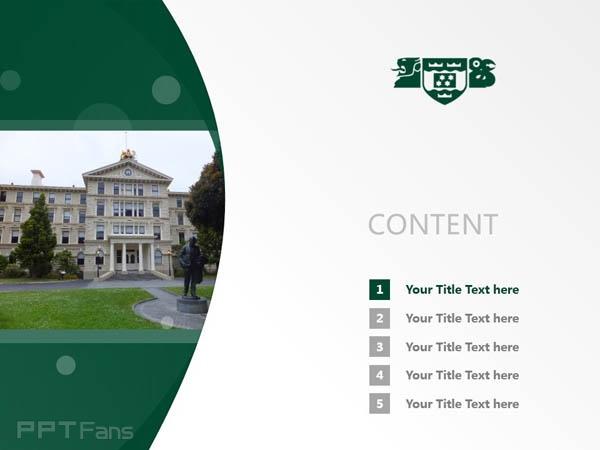 Wellington College of Education powerpoint template download | 惠灵顿维多利亚大学教育学院PPT模板下载_幻灯片预览图2