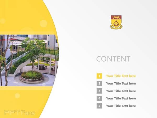 Singapore Polytechnic powerpoint template download | 新加坡理工学院PPT模板下载_幻灯片预览图2