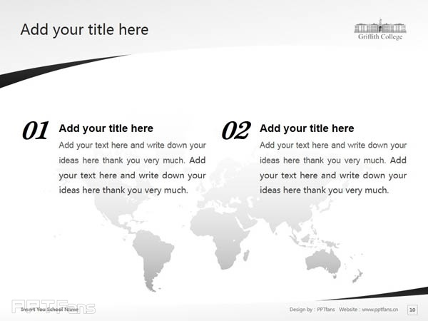Griffith College Cork powerpoint template download | 科克格里菲斯学院PPT模板下载_slide11