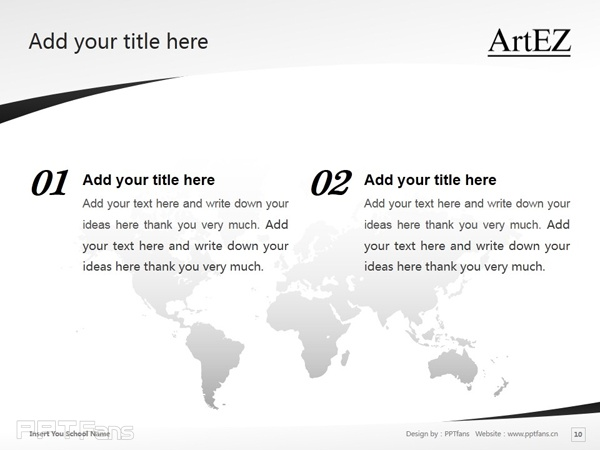 ArtEZ Institute of the Arts powerpoint template download | ArtEZ艺术学院PPT模板下载_幻灯片预览图11