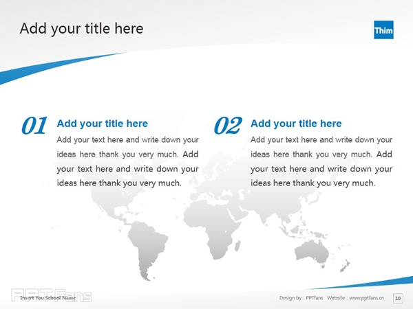 International Academy of Physiotherapy powerpoint template download | 国际理疗学院PPT模板下载_幻灯片预览图11