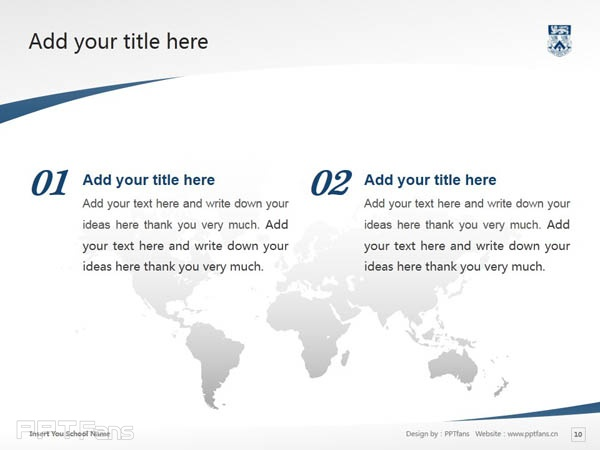 Whitecliff College of Arts and Design powerpoint template download | 怀特克利夫艺术设计学院PPT模板下载_幻灯片预览图11