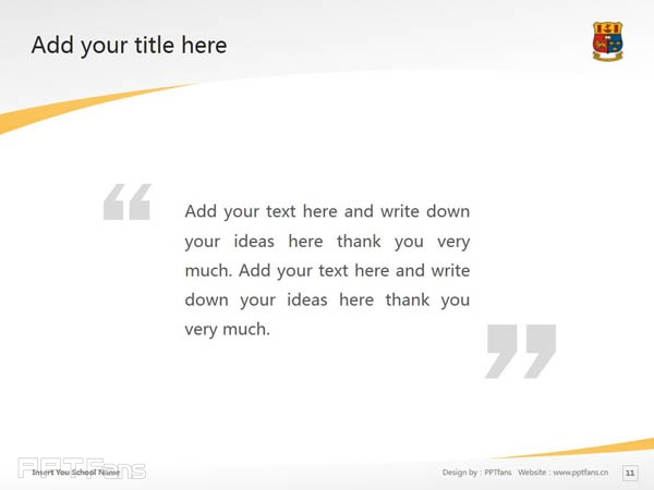 University College of Cork powerpoint template download | 科克大学学院PPT模板下载_slide12