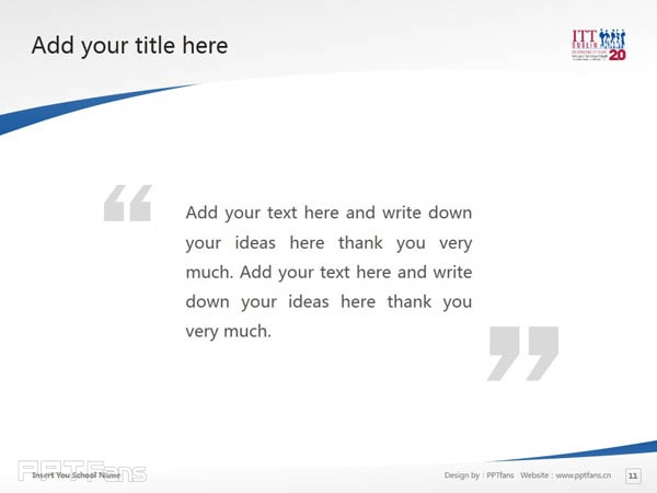 Institute of Technology, Tallaght powerpoint template download | 塔拉理工学院PPT模板下载_slide12