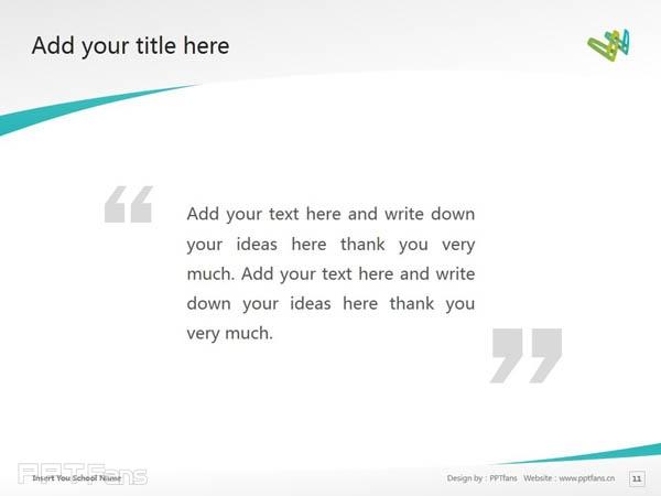 Whitireia Community Polytechnic powerpoint template download   新西兰维特利亚学院PPT模板下载_幻灯片预览图12