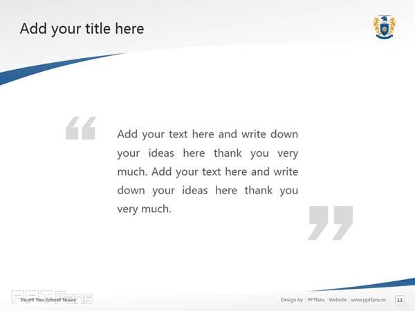 Massey University powerpoint template download | 梅西大学PPT模板下载_幻灯片预览图12
