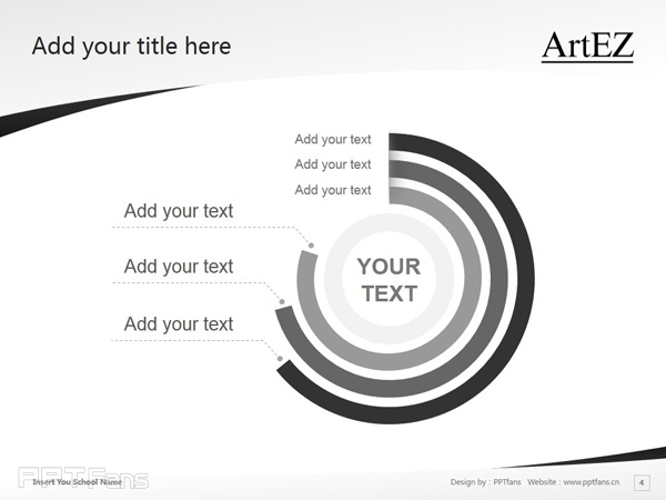 ArtEZ Institute of the Arts powerpoint template download | ArtEZ艺术学院PPT模板下载_幻灯片预览图5