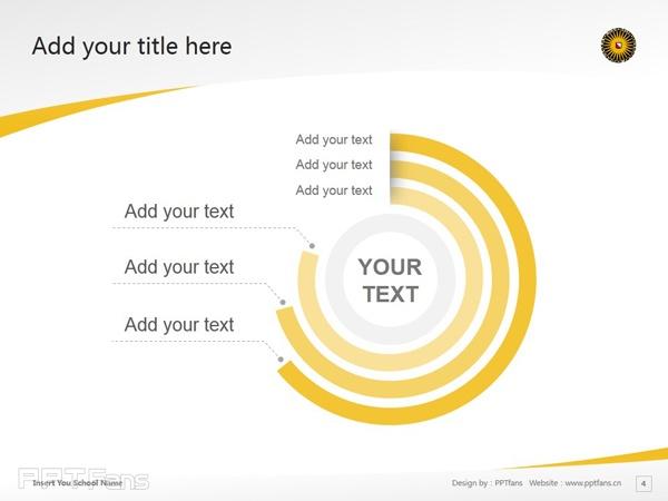Utrecht University powerpoint template download | 乌得勒支大学PPT模板下载_幻灯片预览图5
