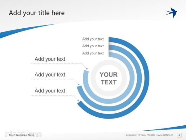 Stenden University powerpoint template download | 斯坦德应用科学大学PPT模板下载_幻灯片预览图5
