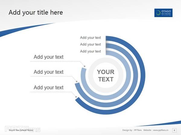 Otago Polytechnic powerpoint template download | 奥塔哥理工学院PPT模板下载_幻灯片预览图5