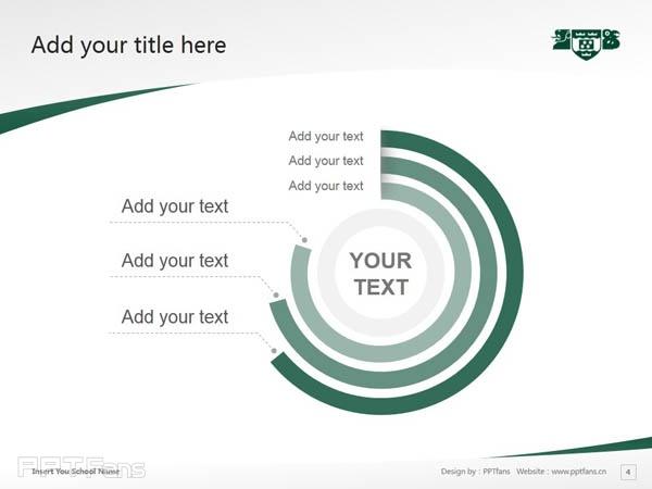 Wellington College of Education powerpoint template download | 惠灵顿维多利亚大学教育学院PPT模板下载_幻灯片预览图5