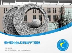 郴州职业技术学院PPT模板下载