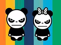 三分鐘教程(206):潮牌來襲!PPT繪制Panda品牌