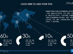 3组中国地图和世界地图PPT模板包