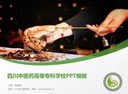 四川中医药高等专科学校PPT模板下载