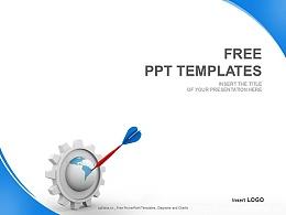 简约策划案PPT模板(4:3)