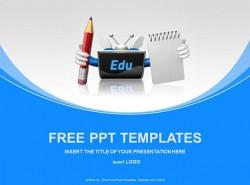 课件教育PPT模板下载(4:3)