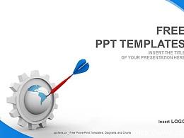 简约策划案PPT模板(16:9)
