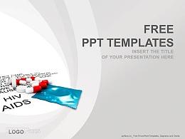 医疗药品PPT模板(4:3)