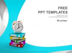 日程计划PPT模板(4:3)