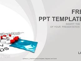 医疗药品PPT模板(16:9)