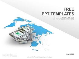 金融贸易PPT模板