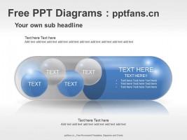 一颗胶囊的直白PPT素材