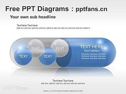 一顆膠囊的直白PPT素材
