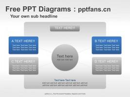 总分关系PPT素材