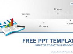 商务数据报告PPT模板