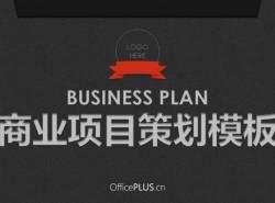 豆沙绿商业策划模板