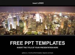 城市PPT模板