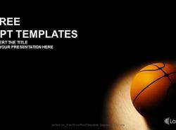 篮球运动PPT模板