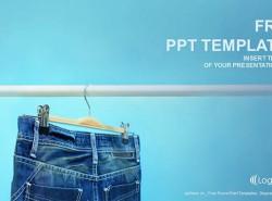 服装牛仔裤PPT