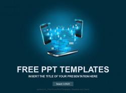 手机PPT模板