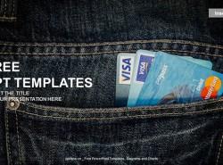 银行卡PPT