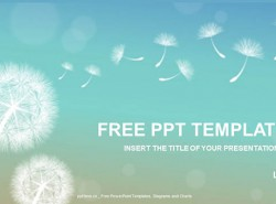 小清新通用PPT模板