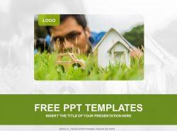 绿色生活PPT模板下载