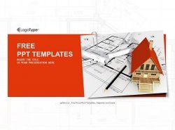 房屋建筑PPT模板下载