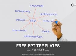 SEO搜索引擎优化PPT模板下载