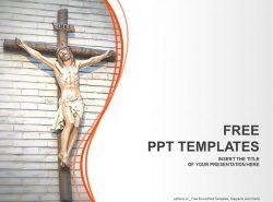基督十字架PPT模板下载