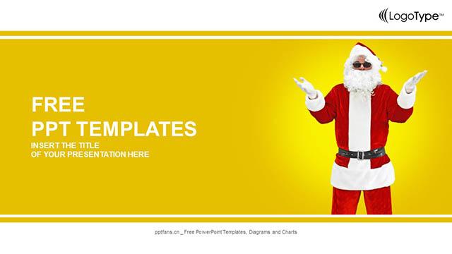 圣诞老人PPT模板下载_预览图4