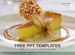柠檬蛋糕PPT模板下载