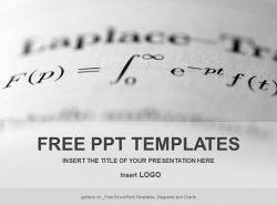 微积分PPT模板下载