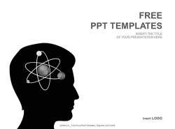 原子运动PPT模板下载