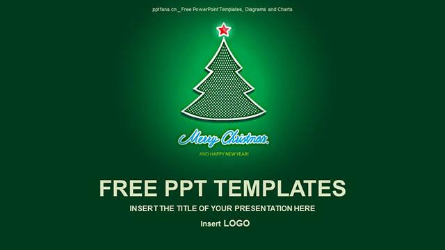 圣诞树PPT模板下载_预览图4